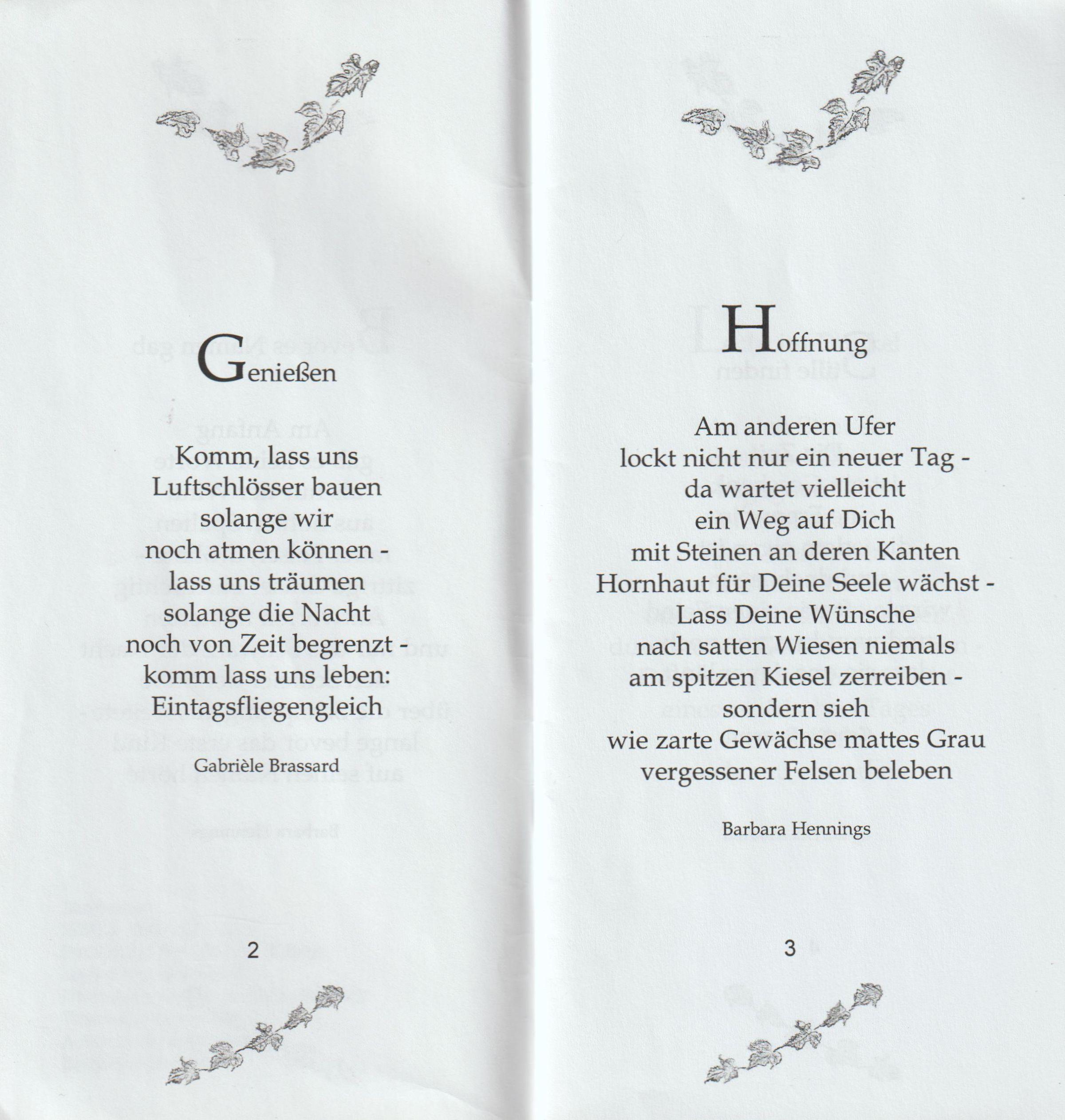 Gedichte I