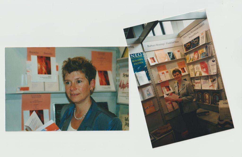 Barbara Hennings Frankfurter Buchmesse